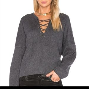 Vince lace front sweater